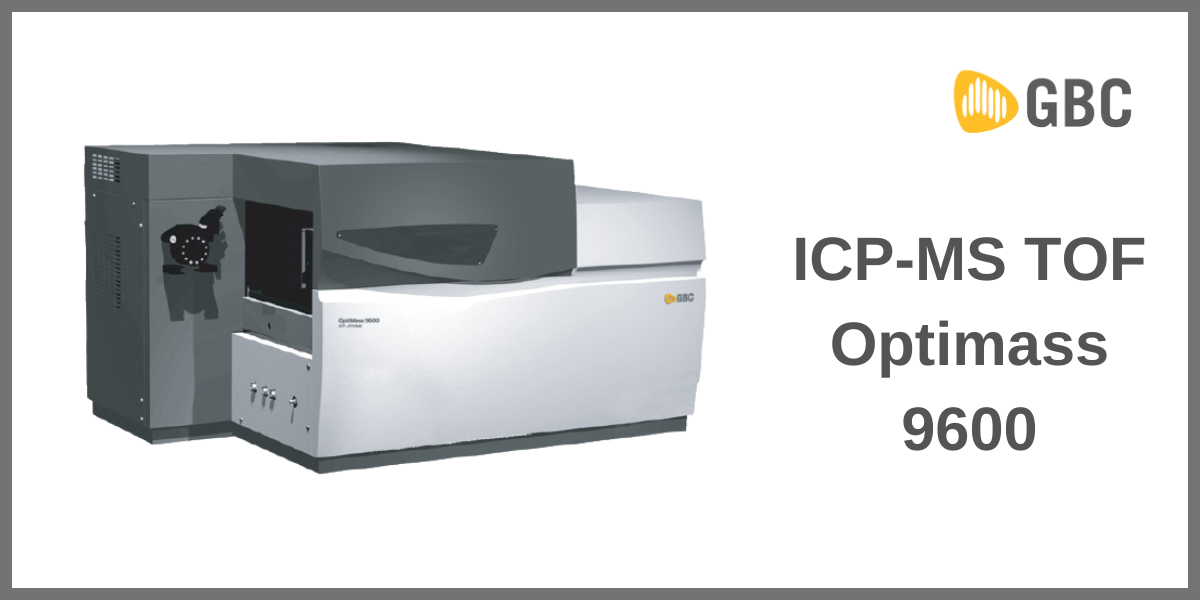 ICP-MS TOF Optimass 9600